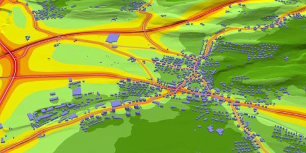 soundplan strasse terrain