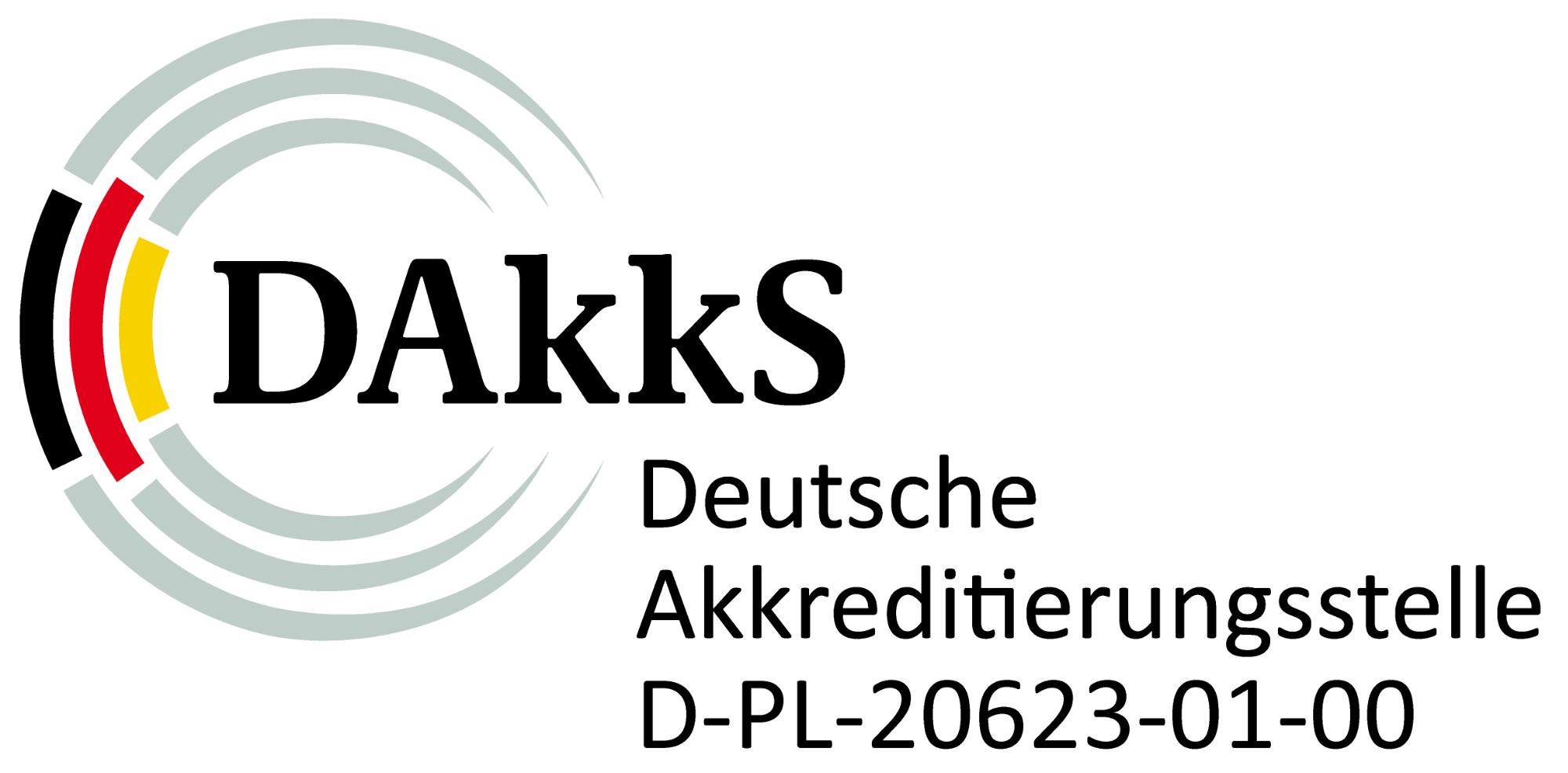 Logo DAkkS - D-PL-20623-01-00